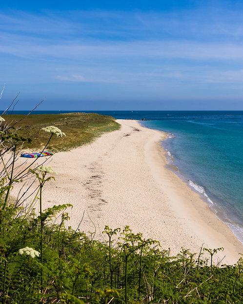 Herm - Shell Beach Day (Portrait) - 2021