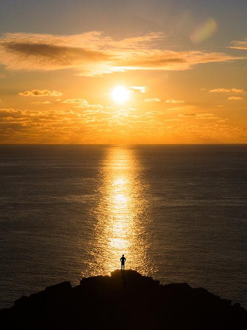 Sunset South Coast Man