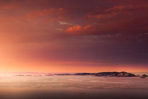 Pink Sunset Herm 2020