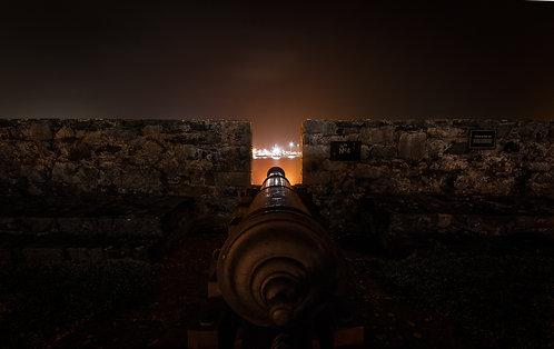 Castle Cornet Cannon - Guernsey