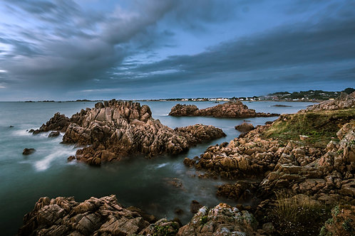 Albecq at Dusk - Guernsey