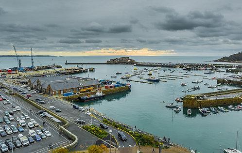 St Peter Port Harbour - Guernsey