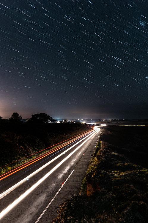 Galactic Alecq Coast Road - Portrait (2021)