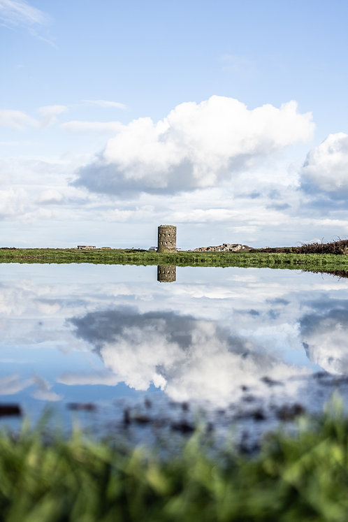 2021 - L'Ancresse - Martello Tower Reflections