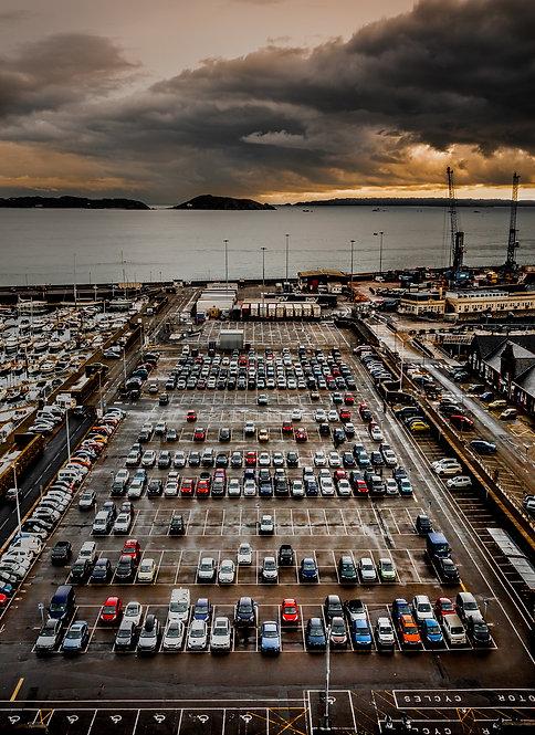 North Beach Carpark - Guernsey