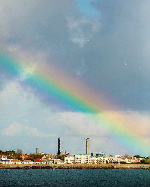 Rainbow - Guernsey (zoom portrait)