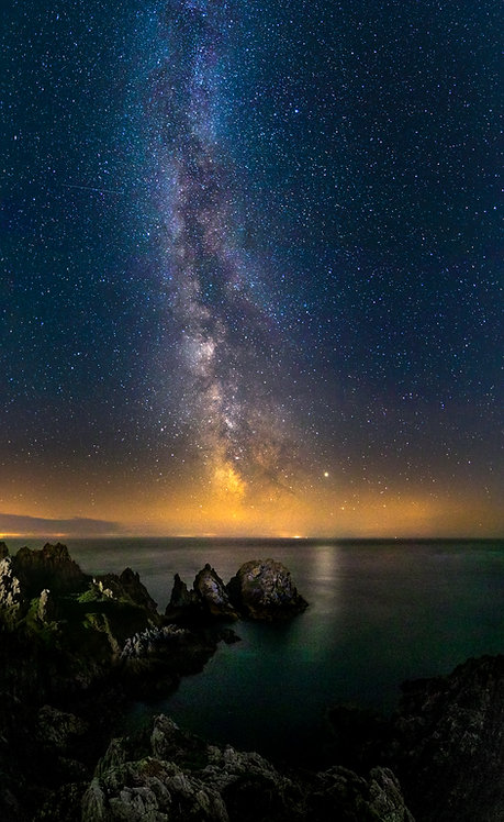 Pea Stacks - Big Milkyway