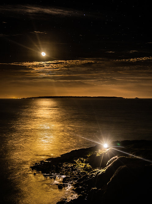 St Martins Point - Moon Rise