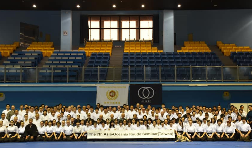 7th Asia-Oceania Kyudo Seminar Taiwan 20