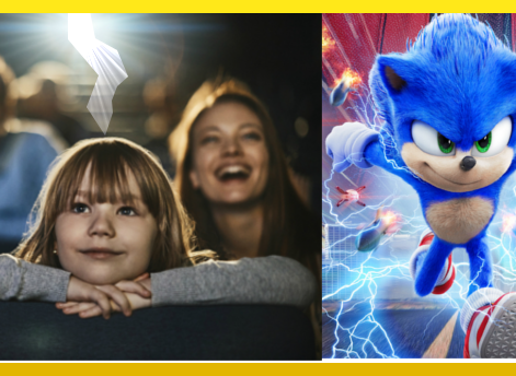 Divorce Incoming: These Parents Took Their Child to 'Sonic the Hedgehog' on Valentine's Day