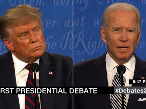 """Can We Please Stop Making Everything Political?"" Asks Trump in Presidential Debate"