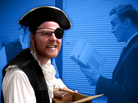 Excommunicated LARPer Role-Plays to Top of Corporate Ladder