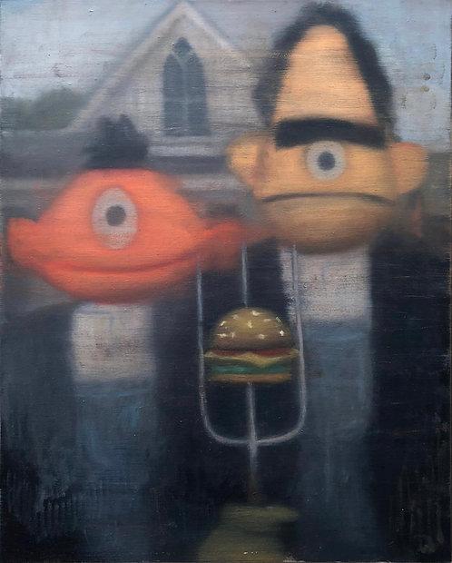 Bert Ernie Gothic