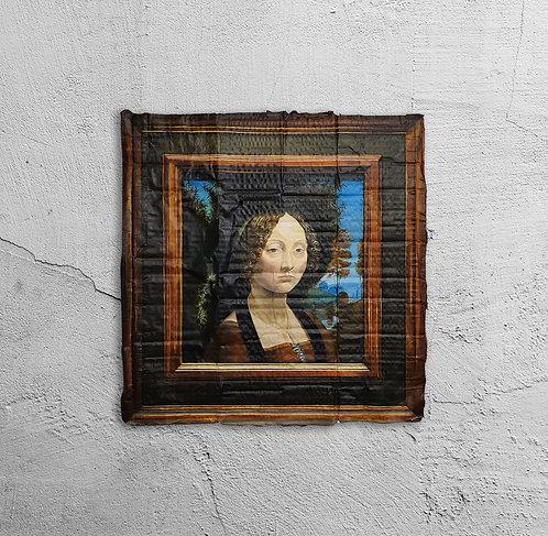 """""""Leonardo da Vinci. Retrato de Ginebra de Benci"""", 2020"""