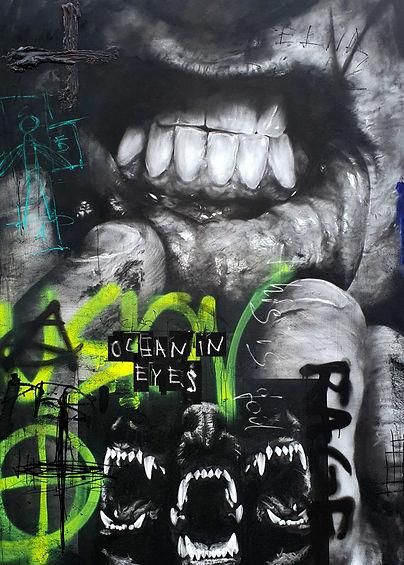 Igor Dobrowolski - Rage - Plan X Art Gallery