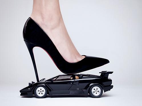 Lamborghini High Heels