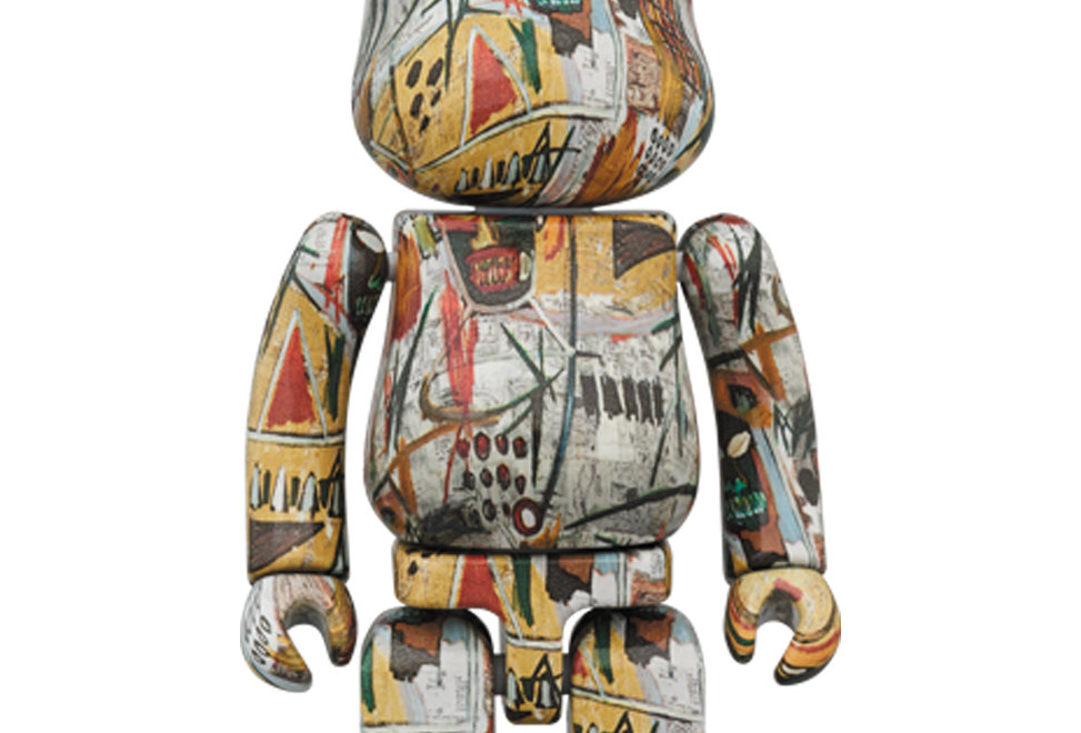 BE@RBRICK x Jean Michael Basquiat 1000%