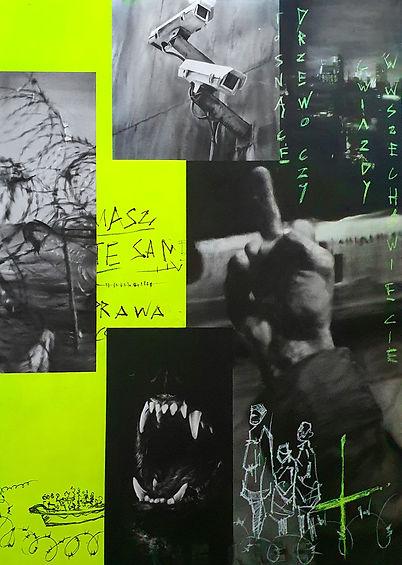 Igor Dobrowolski - Fight - Plan X Art Gallery