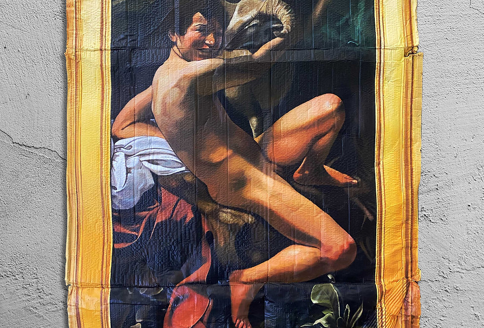 Michelangelo Merisi da Caravaggio. San Juan Bautista