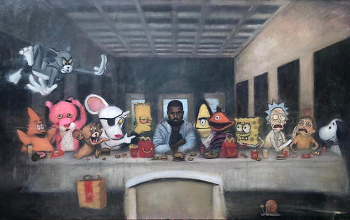 Kanye Last Supper