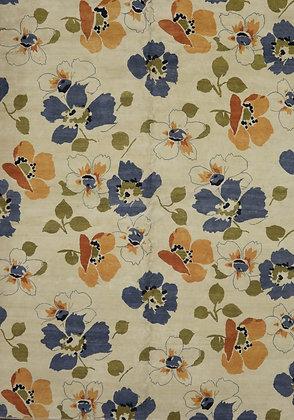 Modern Floral 9' x 12'