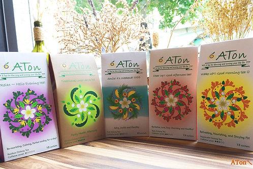 ATon tea - Whole range / ㄟ昂全套茶組