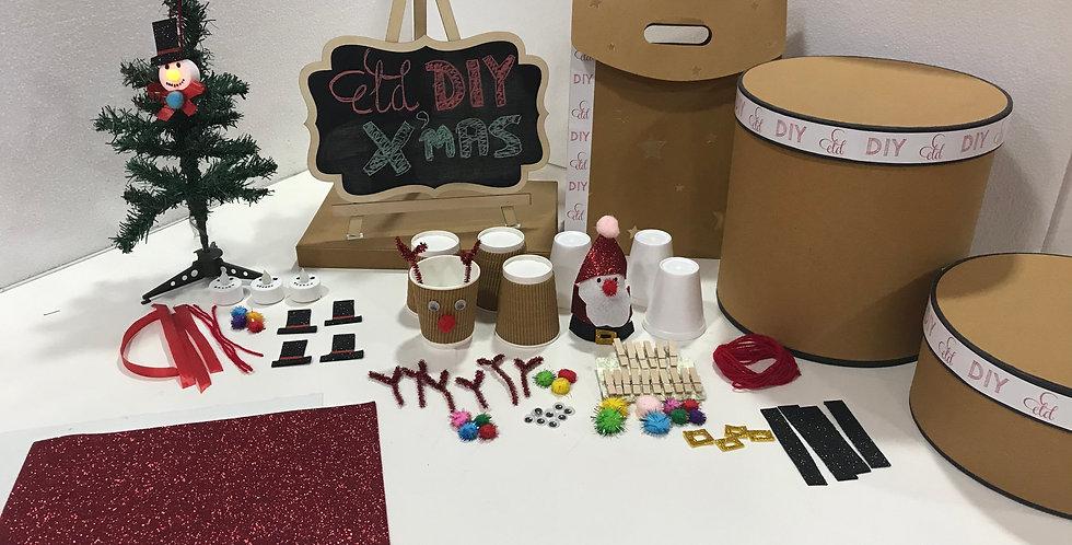 ELD DIY XMAS 2-IN-1 KIDS CRAFT