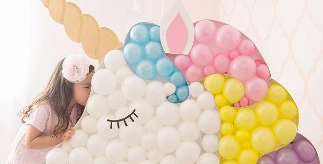 Unicorn Balloon Pop-UP