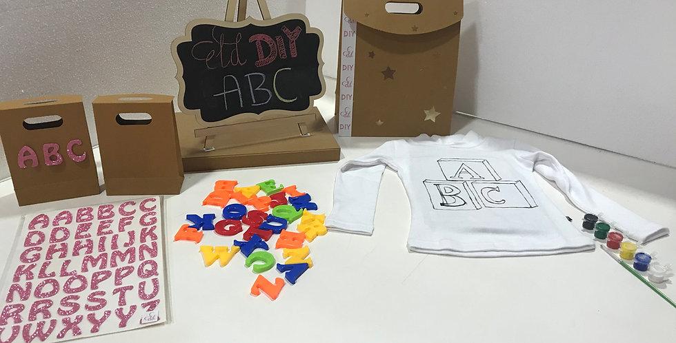ELD 3-in-1 kids ABC DIY activity