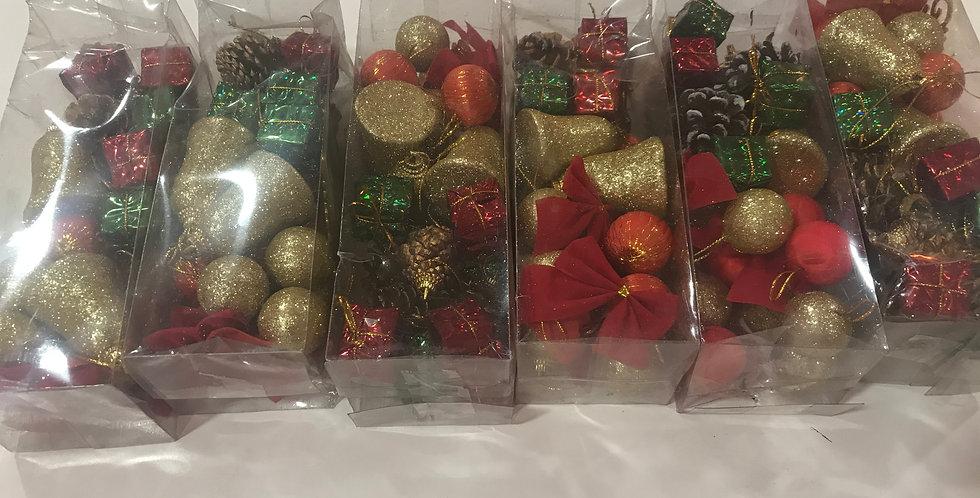 24 Mixed Ornaments
