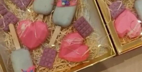 Cake Popsicles Box