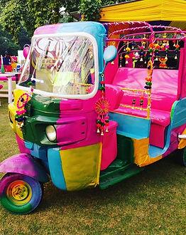 Fun Multicolored Day Ride