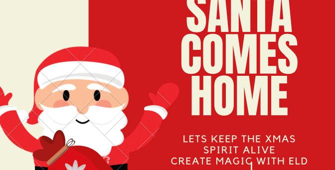 Santa Comes Home