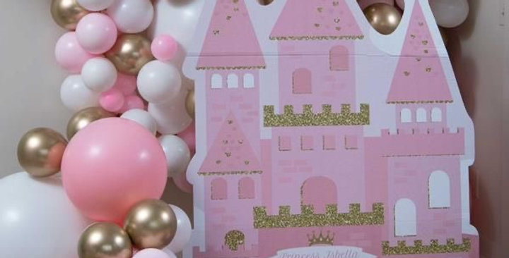 Cut Outs with Balloon Set-up