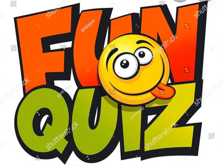 Live online quiz. Thursday 3rd April.