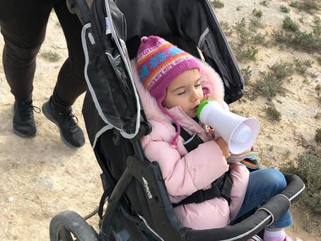 January's Charity Walk Update.