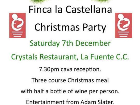 The Finca Christmas Party.