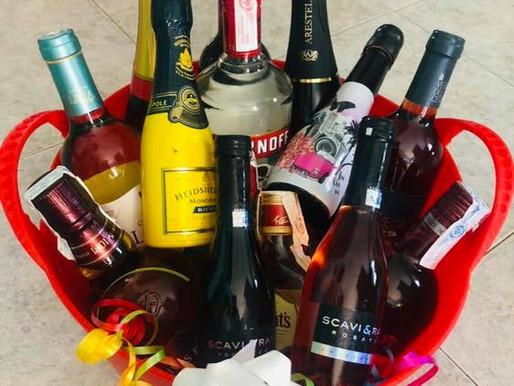 De-escalation Booze Bucket Raffle!
