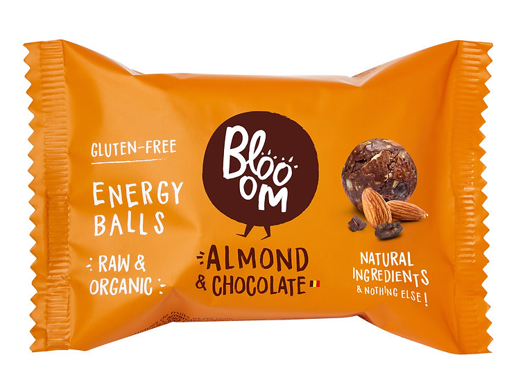 "Blooom Energy Balls "" Almond & Chocolate"""