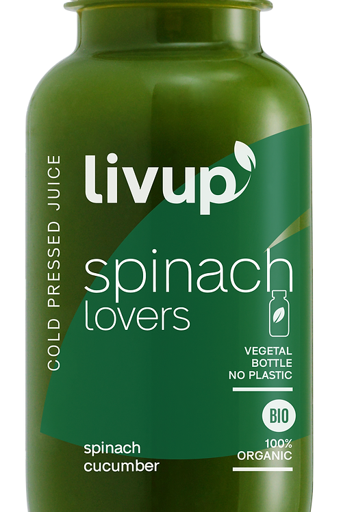 jus pressé a froid - Spinach Lovers
