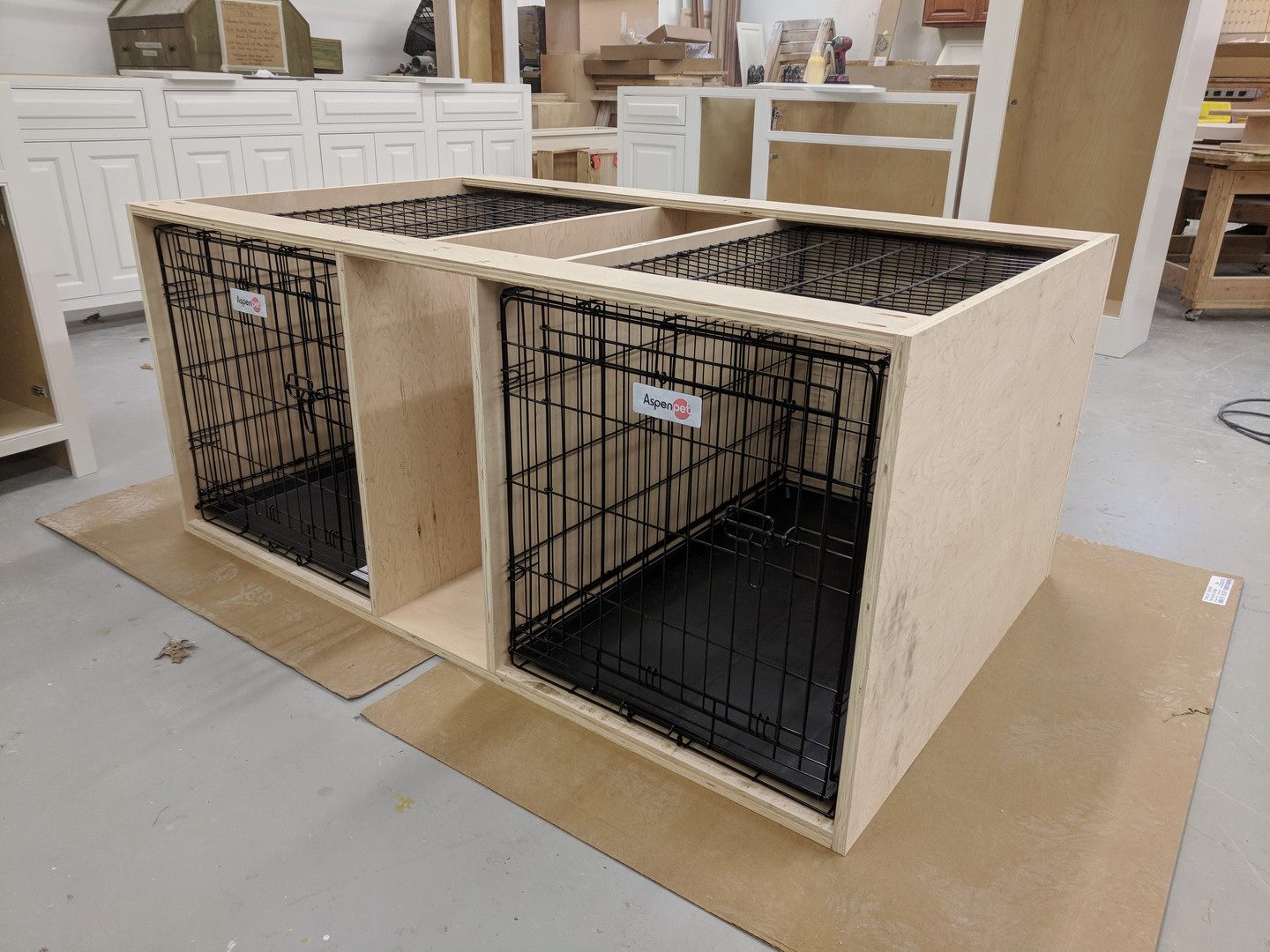 Custom Dog crates