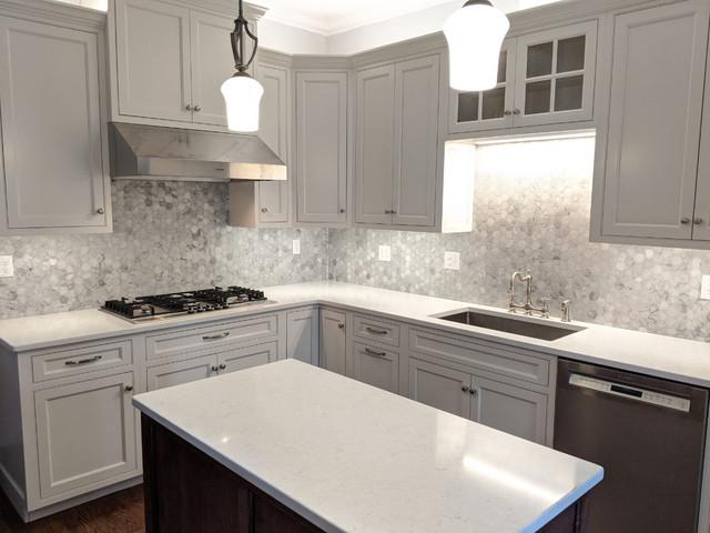 White Dove Kitchen Remodel