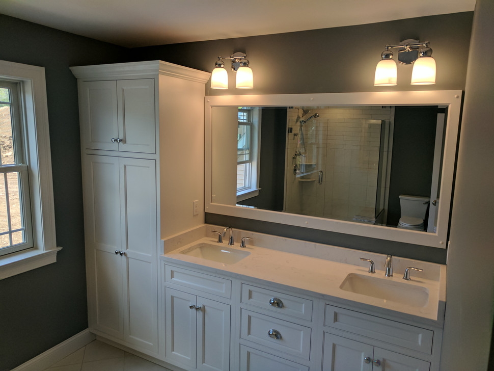 Tall Pantry in Bathroom