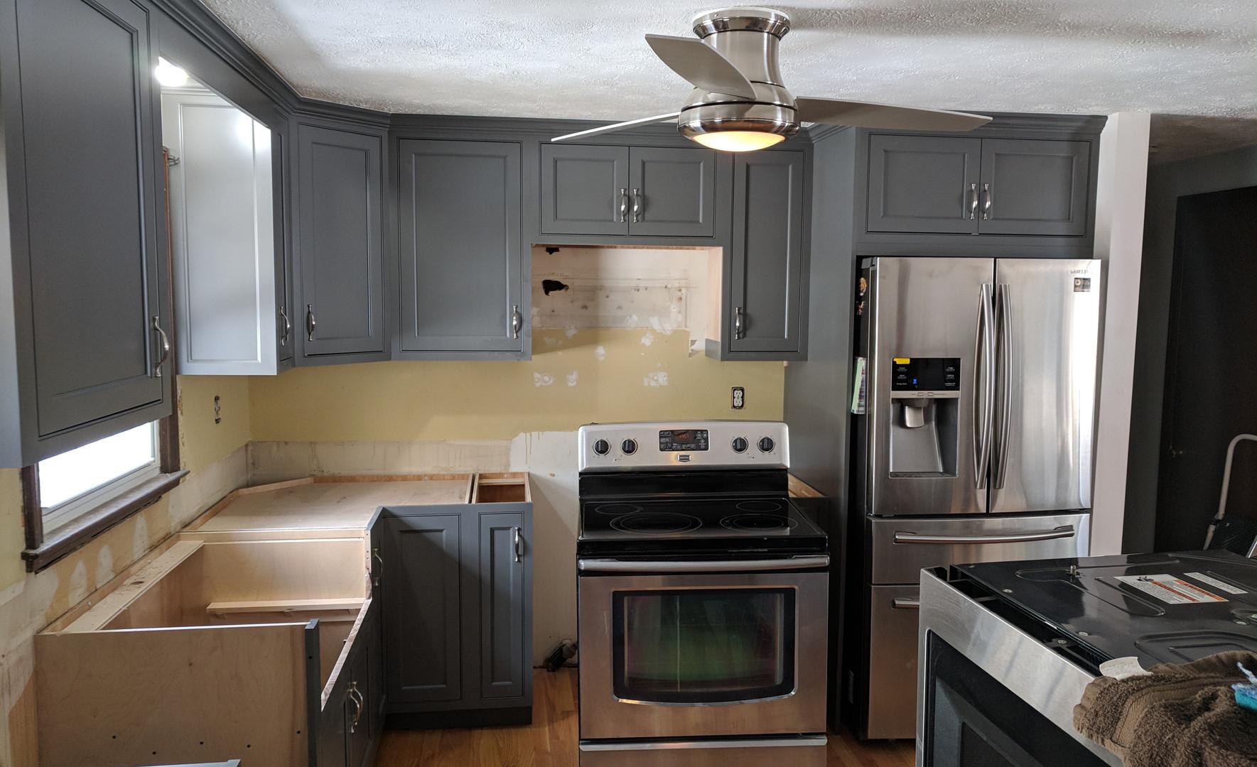 Stonington Grey Kitchen