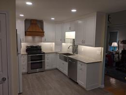Polar Bear White Inset Kitchen