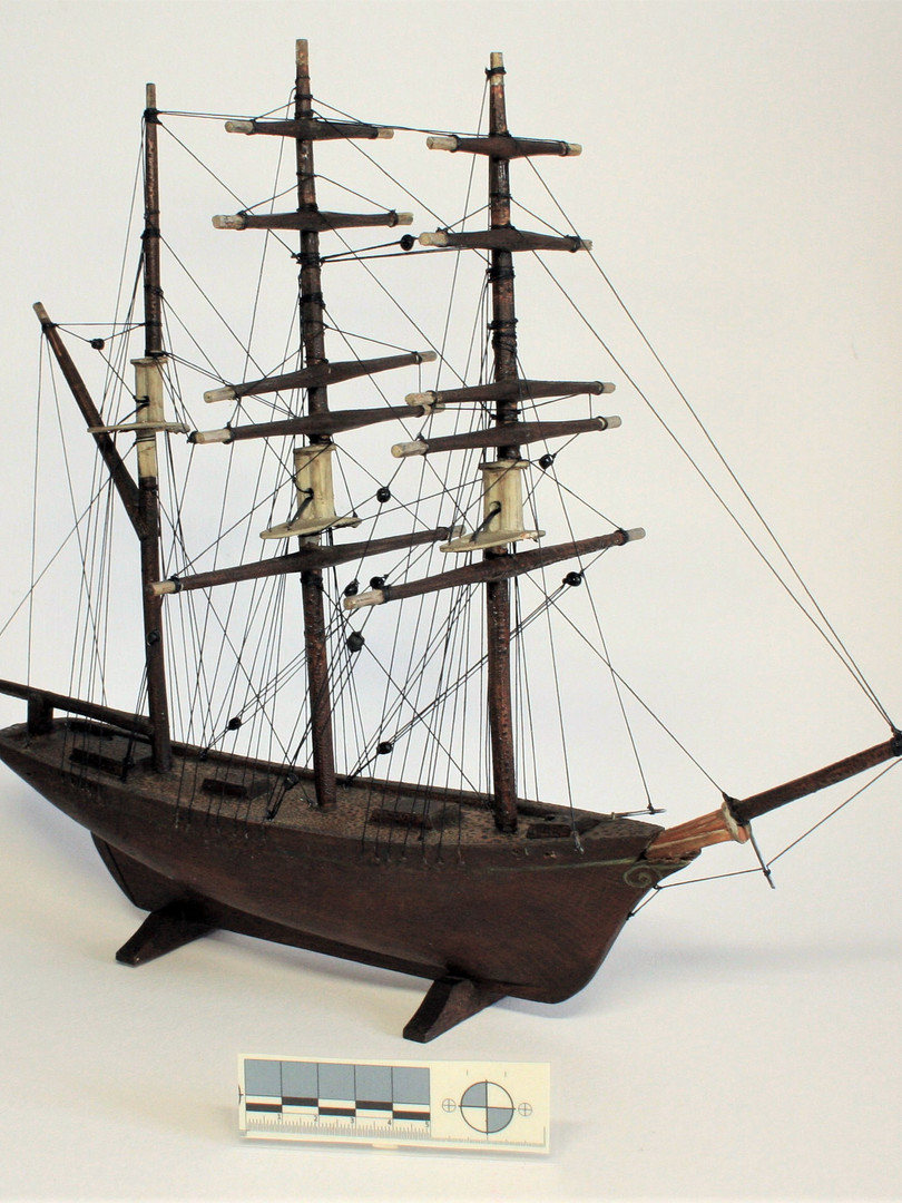 Ship after conservation