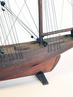 Ship hull after conservation