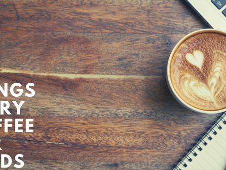 Six Things Every Coffee Bar Needs