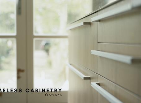 Frameless Cabinetry Options