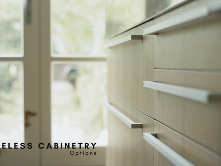 Frameless Cabinetry Options